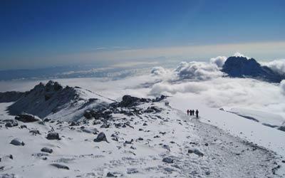 מסלולים לפסגת הר הקילימנג'רו