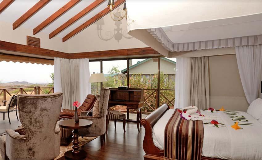ngorongoro oldeani mountain lodge - טנזניה