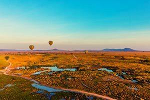 כדור-פורח-בשמי-שמורת-הסרנגטי-בטנזניה
