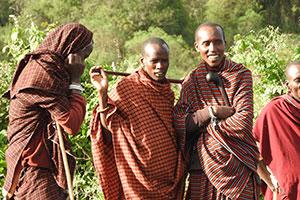להפוך מנער לבוגר – שבט המסאים במזרח אפריקה